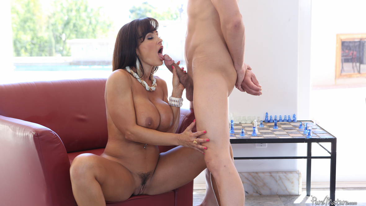 image Puremature busty lisa ann demands younger man attention