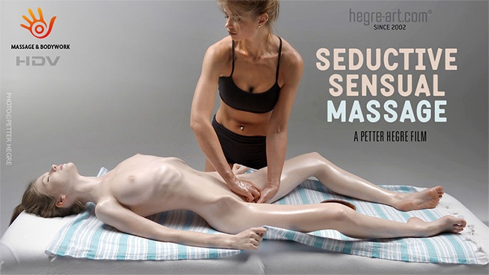 seductive sensual massage on hegre art