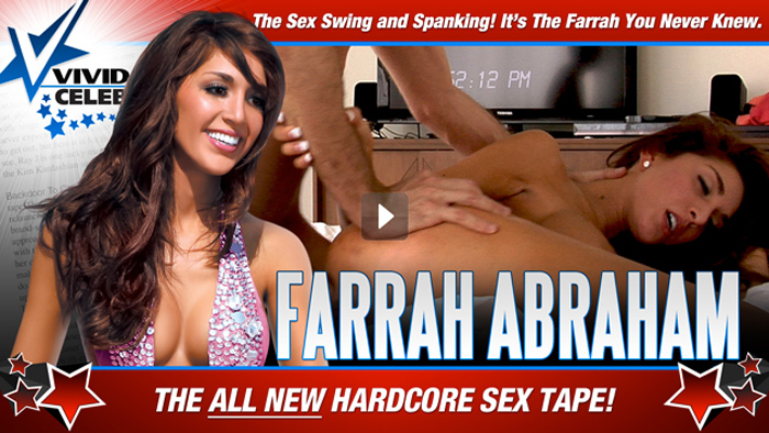 Farrah Abraham 2nd Sex Tape