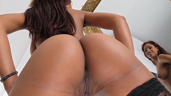 image Katia de lys ebony foot pornstar riding