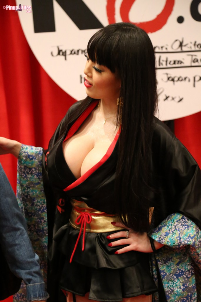 AVN 2015 With Hitomi Tanaka   Pinup Files