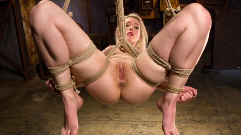 Alt girl gets tormented in rope bondage 4