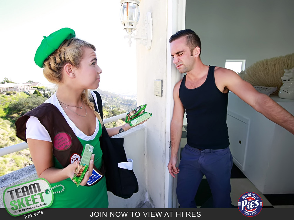 Alina west girl scout