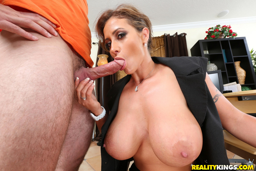 Big Tit Brunette Teen Fucked