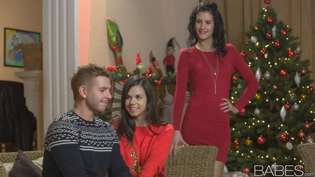 Leanna sweet and nekane - christmas surprise