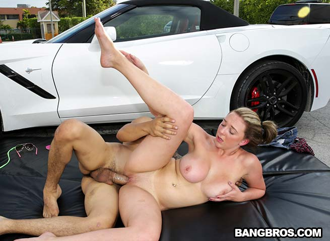 Brooke wylde fast cars big tits Brooke Wylde Goes For A Ride On Bang Bros Clips
