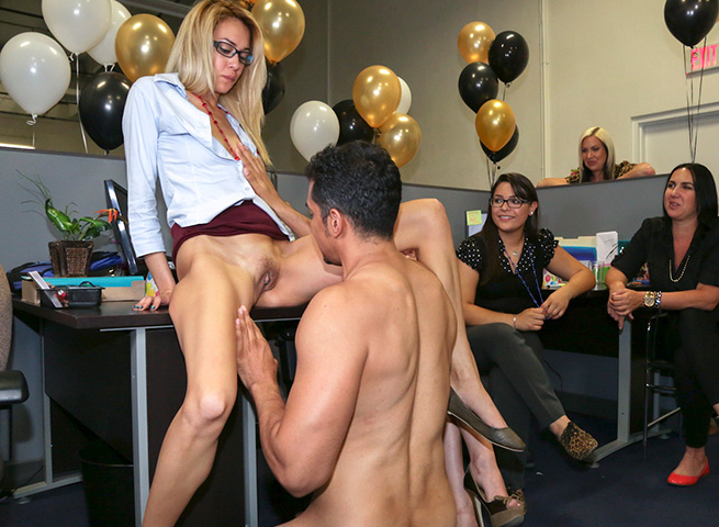 fuck sex office party