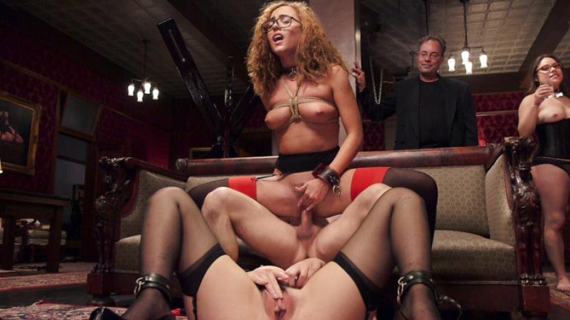Watch Kait's Top Floor Slave Training