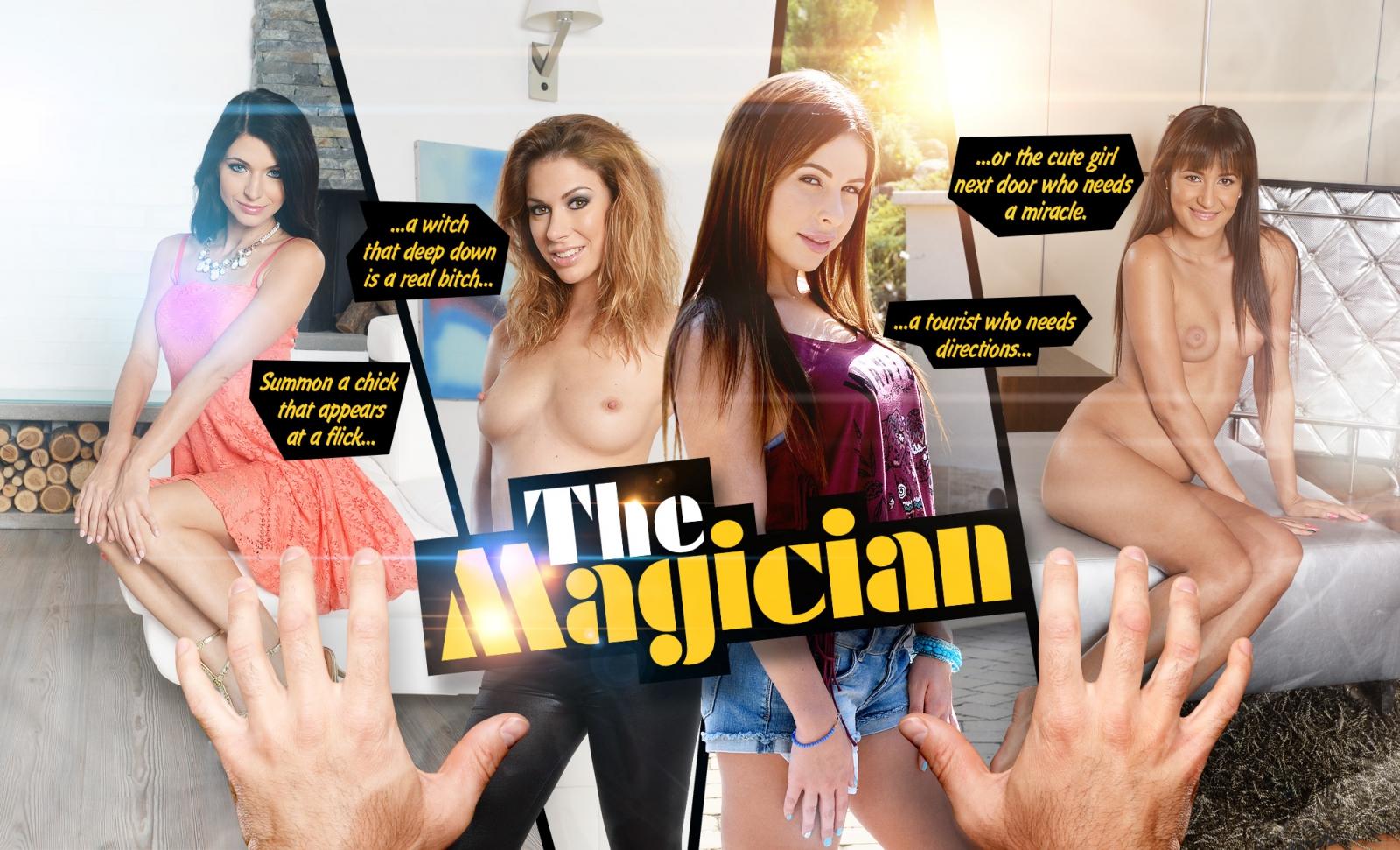 The porn magician