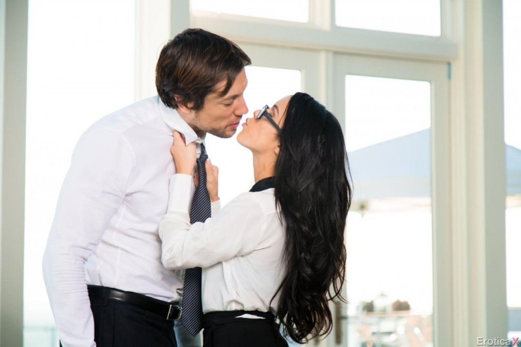 Erotica-X Presents: Megan Rain Role Playing- Boss/Secretary