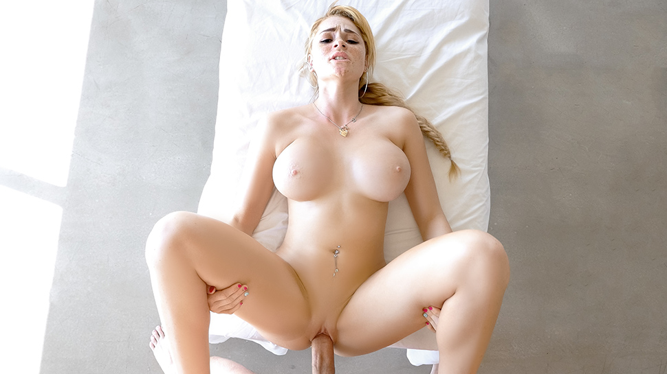 Cassidy banks is a gloriously busty pov cocksucking artist