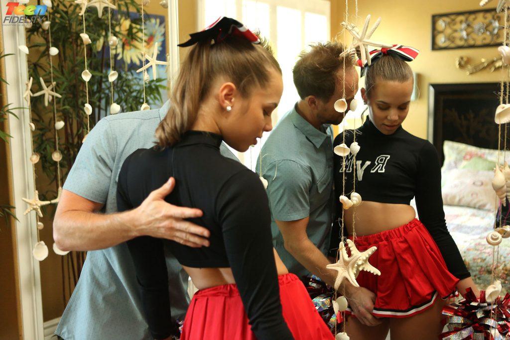 Liza Rowe On Teen Fidelity In Tfsn Cheerleaders 3-6538